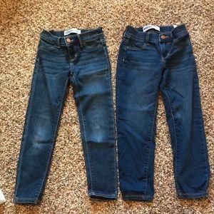 Super cute old navy rockstar jeans!